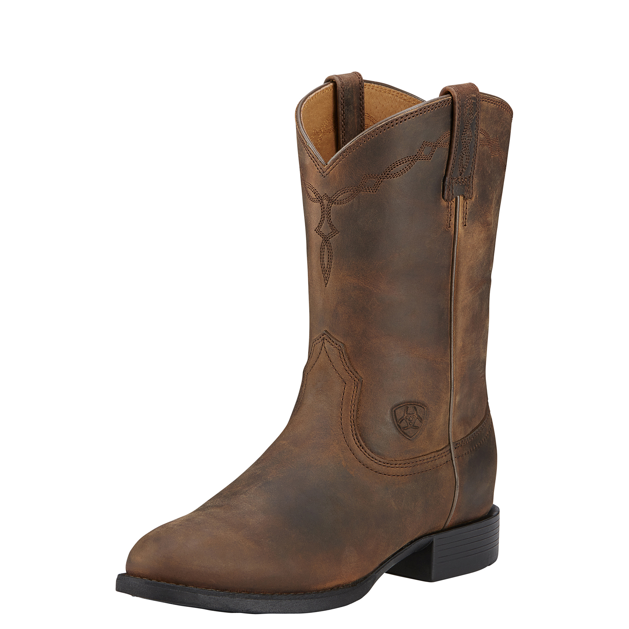 017a8927503 Ariat Womens Heritage Roper - Distressed Brown