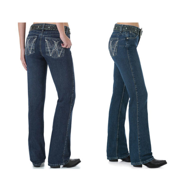 915f829b Wrangler Womens Ultimate Riding Jean - Q Baby - Booty Up - Donohues ...