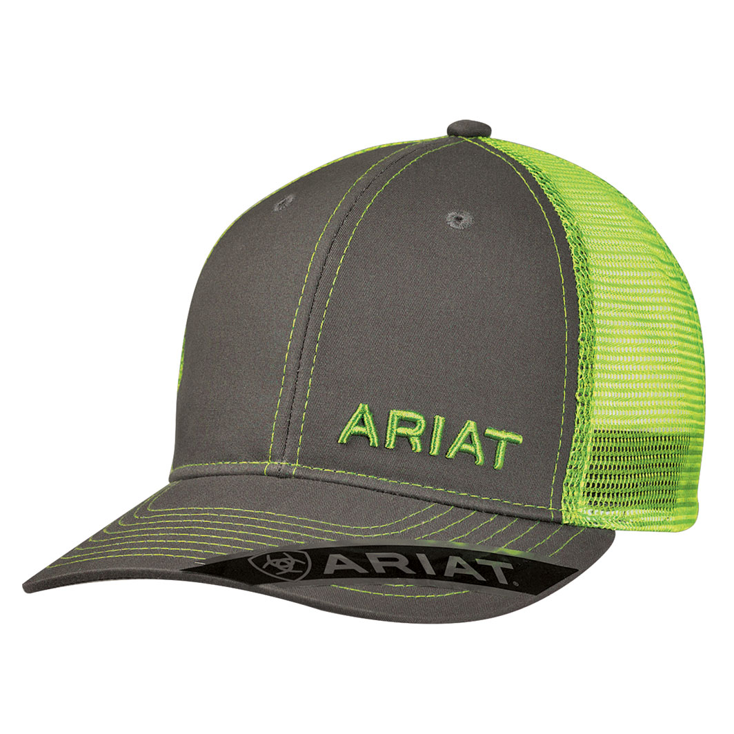 a55a62cc Ariat Truckers Cap - Lime - Donohues, City & Country Gear