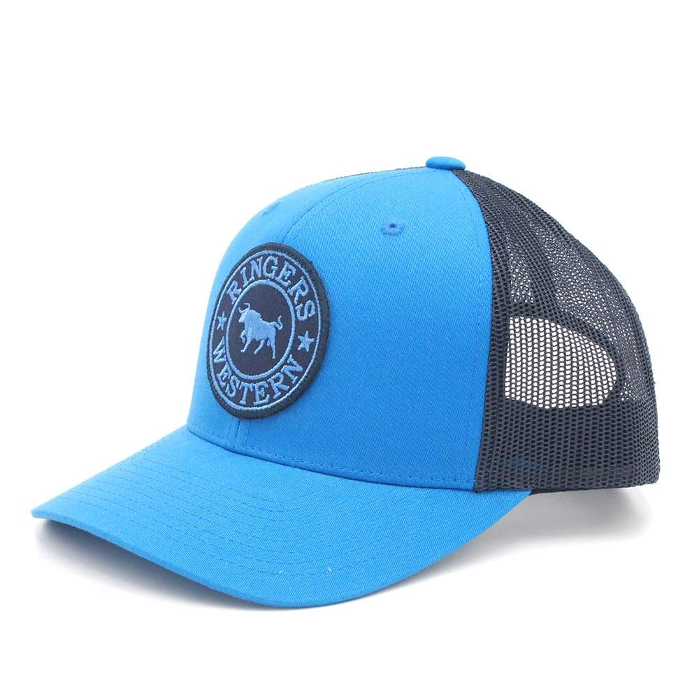 651551bcf Ringers Western Signature Bull Trucker - Blue Navy with Navy Blue ...