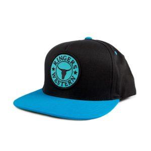 91b51fae44b Ringers Western Baseball Cap – Aqua Black
